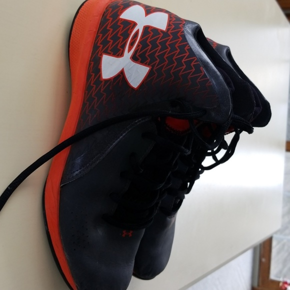 Under Armour Shoes | Black And Orange